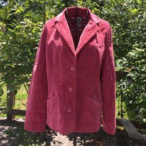 LL Bean Corduroy Blazer/Jacket